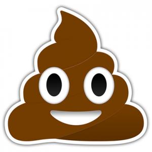 Das umstrittene Kackhaufen-Emoji