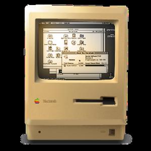 Der Ur-Macintosh und seine Icons
