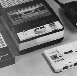 Einer der ersten Philips-Kassettenrekorder aus den frühen 60ern