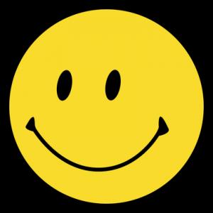 Der - noch nasenlose - Ur-Smiley