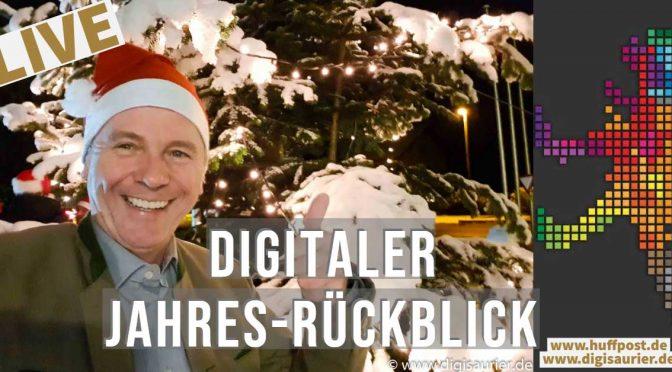 Unsere Livesendung: Digitaler Jahresrückblick 2018