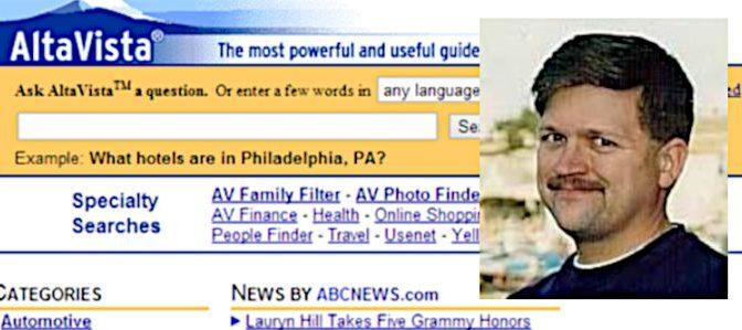Paul Flaherty erfand mit Altavista die Internet-Suchmaschine