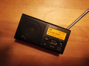 Ein schickes DAB-Taschenradio von Sony