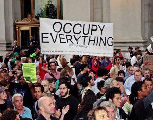 Occupy-Wallstreet-Demo im September 2011