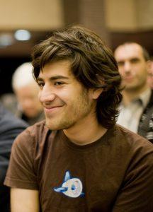 Aaron Swartz im Jahr 2008