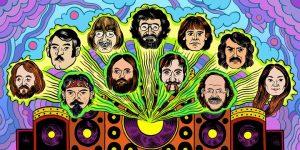Grateful Dead, John Perry Barlows Familie (Illustration: Matt Panuska)