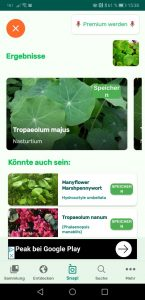 Gute Alternative: Plant Snap