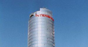 Der Jentower mit Intershop-Schriftzug ca. 2002