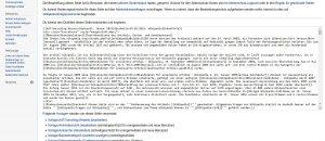 Wikipedia-Artikel schreibt man in einer speziellen Formatierungssprache