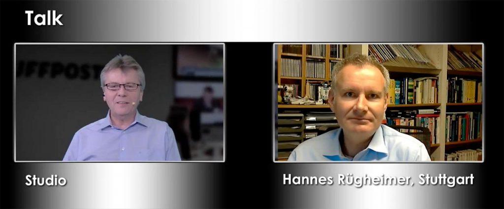 Christian Spanik und Hannes Rügheimer verabschieden sich von ihren Zuschauern.