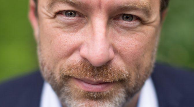 Jimmy Wales at Wikimania 2015 (Quelle: Wikimedia)