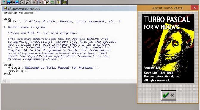 Turbo Pascal - der Star unter den strukturierten Programmiersprachen