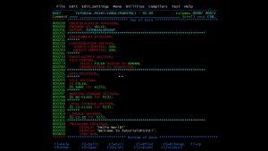 Ein kleines Stückchen COBOL-Code...