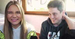 Dagi Bee und ihr Ex-Freund Leonit