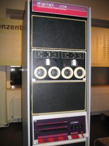 Teil einer PDP-11, dem Minicomputer mit Unix