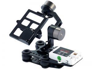 Kardanische Aufhängung zum Nachrüsten für eine Drohnenkamera (Foto: Simulus)