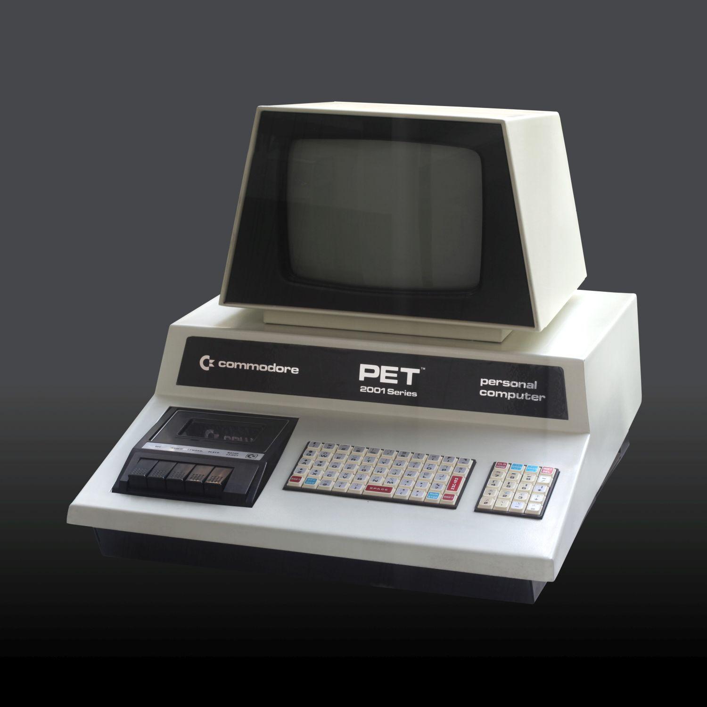 Commodore PET - Komplettsystem mit integrierter Tastatur