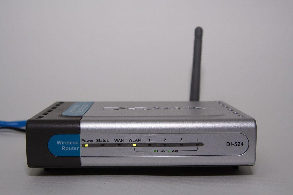 Ein typischer DSL-Router von früher - hier von D-Link