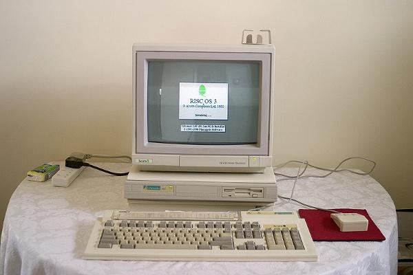 Acorn Archimedes, der erste Großserien-PC mit RISC-Prozessor