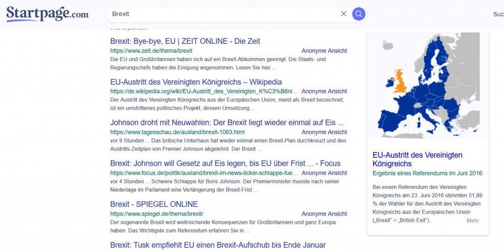 Startpage - die schlichte und datensaubere Suchmaschine
