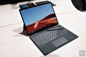 Auch schick, schnell und always online - das Surface Pro X