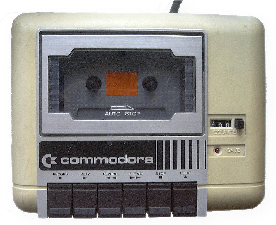 Die gute, alte Datasette für den Commodore 64