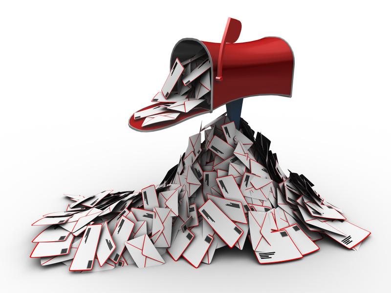 Das ganz große E-Mail-Chaos wie jeder es kennt