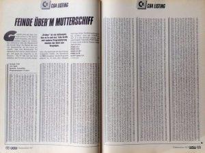Ein Assembler-Listing zum Abtippen in der Computerzeitschrift RUN