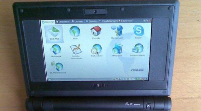 Fast vergessen (1): Der Asus Eee PC und was er auslöste