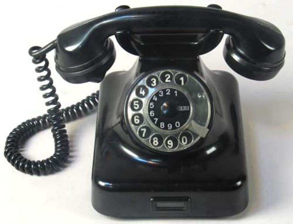 Und dann ist da noch das liebe Telefon