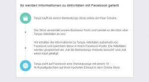 """So erklärt Facebook die """"Aktivitäten außerhalb"""""""