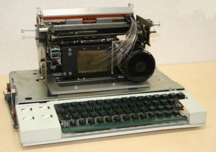OKI Wiredot, der erste serienmäßig hergestellte Nadeldrucker