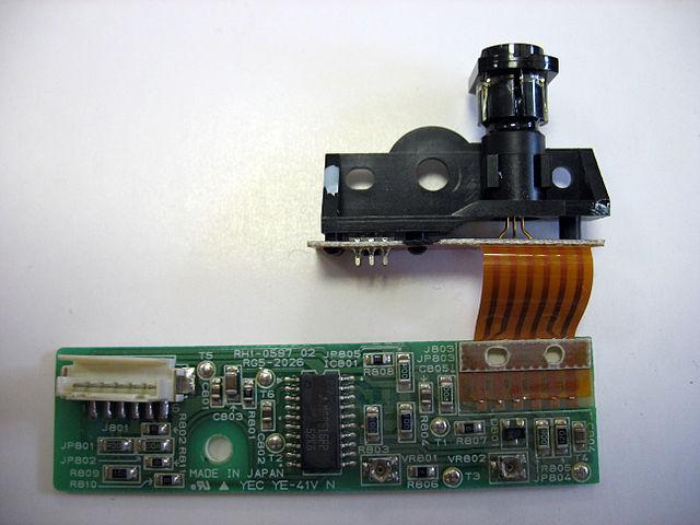Lasereinheit eines frühen HP Laserjets (Foto: Wikimedia)