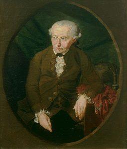Immanuel Kant, einer der wichtigsten Denker der Aufklärung