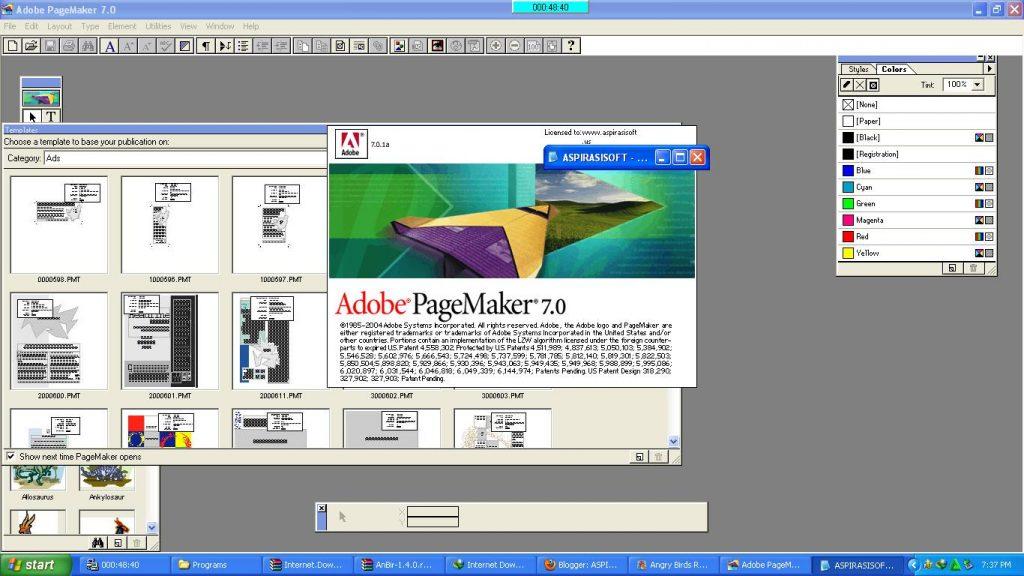 Pagemaker - aus den Anfangstagen des DTP