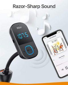 Das Grundprinzip der Bluetooth-FM-Transmitter in einem Bild dargestellt