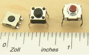 Technisch gesehen ist der Reset-Schalter eine Taste