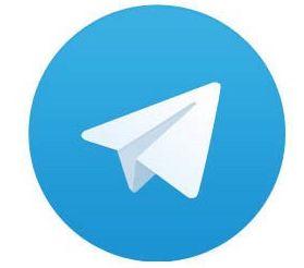 Das schlichte Telegram-Logo