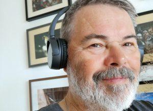 On-Ear-Kopfhörer ganz ohne Krachunterdrückung (eigenes Foto)