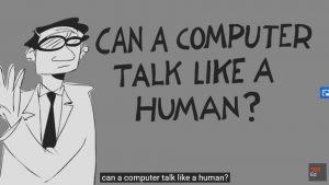 Alan Turing und sein Test (Screenshot: TED Ed)