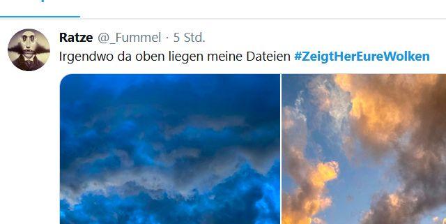 Heutzutage gang und gäbe: Ein Hashtag als Bezeichner für eine Kampagne (eigener Screenshot)