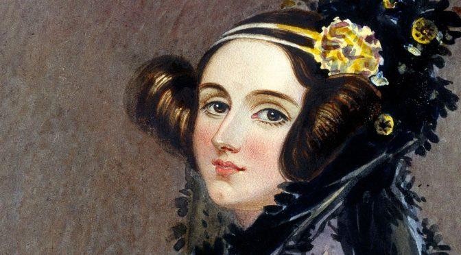 Die schöne Ada Lovelace...