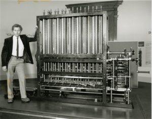 Nachbau der Analytical Engine (Foto: David Exton via computerhistory.org)