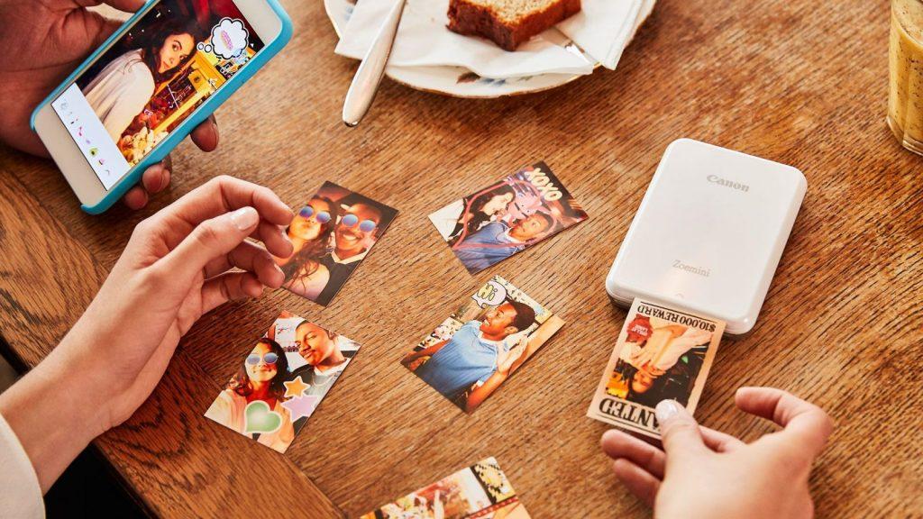 Die kleine Welt der Mini-Printer und winzigen Fotos (Foto: via Gadgetgeeks.com)