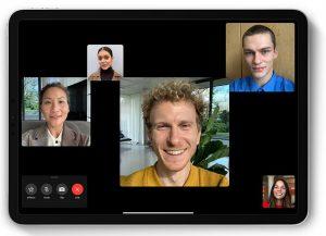 So simpel gehen Videokonferenzen mit Apples FaceTime (Foto: via MacWorld)