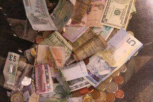 Bargeld ist unhygienisch!
