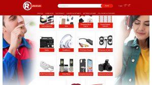RadioShack heute: ein Online-Kramladen für Elektronik und Gadgets (Screenshot)