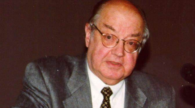 Paul Baran in seinen letzten Lebensjahren