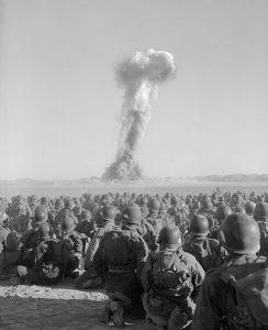 Die Angst vor der Atombombe trieb die Entwicklung der Computernetze (Foto via Wikimedia)