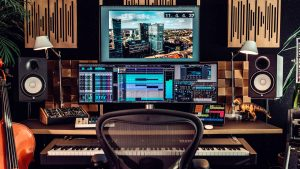 So kann  ein digitales Tonstudio aussehen (Foto: Steinberg Cubase)